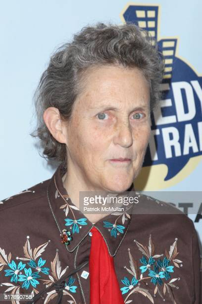 Dr Temple Grandin attends Jon Stewart Hosts NIGHT OF TOO MANY STARS An Overbooked Concert for Autism Education at Beacon Theater on October 2 2010 in...