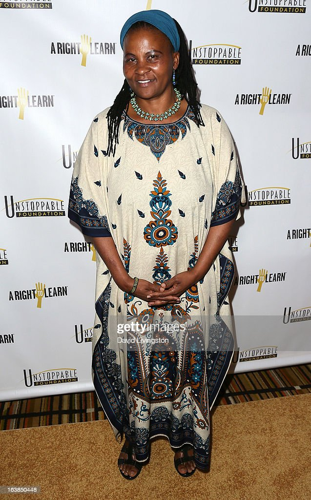 Dr. Tererai Trent attends the 4th Annual Unstoppable Gala at the Beverly Wilshire Four Seasons Hotel on March 16, 2013 in Beverly Hills, California.