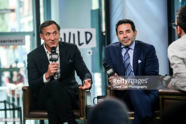 Dr Terry Dubrow and Dr Paul Nassif attend Build Series to discuss 'Botched' at Build Studio on June 15 2017 in New York City