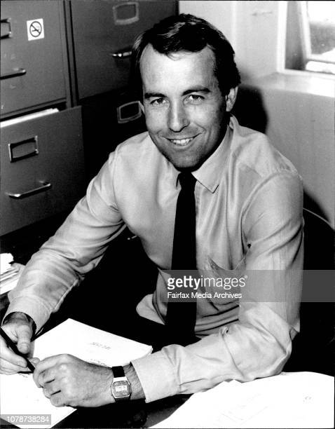 Dr. Terry Dwyer, State Athletics promoter, at his office in Sydney university.As a schoolboy miler in the early 1960's Terry Dwyer used to spend his...