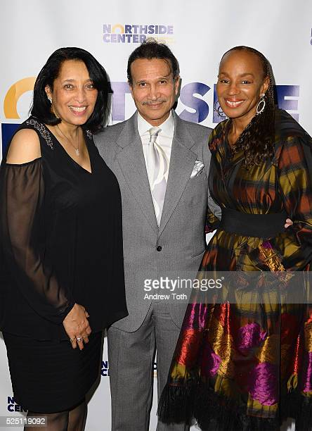 Dr Thelma Dye PhD author Khephra Burns and former editor in chief of Essence magazine Susan L Taylor attends the Northside Center for Child...