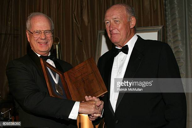 Dr Thomas Fahey and Richard E Meyer attend The 24th Annual Calvary Hospital Awards Dinner Dance at The Pierre Hotel on June 6 2007 in New York City