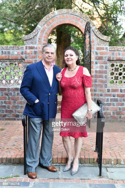 Dr Thomas Giordano and Maria Giordano attend the 21st Annual Hamptons Heart Ball at Southampton Arts Center on June 10 2017 in Southampton New York