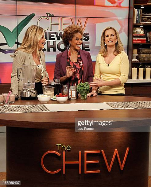 THE CHEW Dr Tiffanie Davis Henry and Dr Jennifer Ashton of Walt Disney Television via Getty Images's new daytime show The Revolution appear on The...