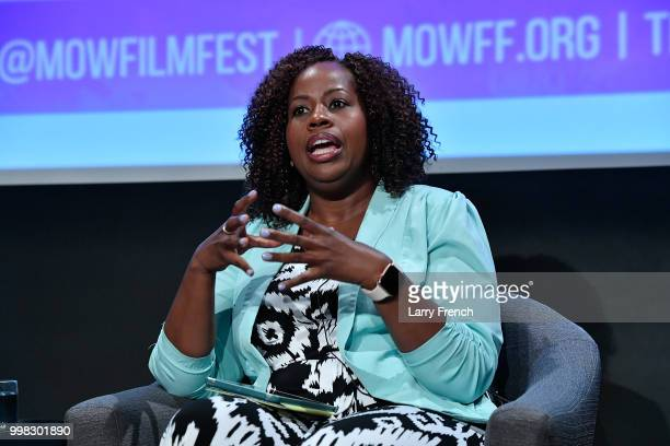 Dr Tiffany Gill appears at In Her Footsteps The Legacy of Madam CJ Walker at the March On Washington Film Festival on July 13 2018 in Washington DC