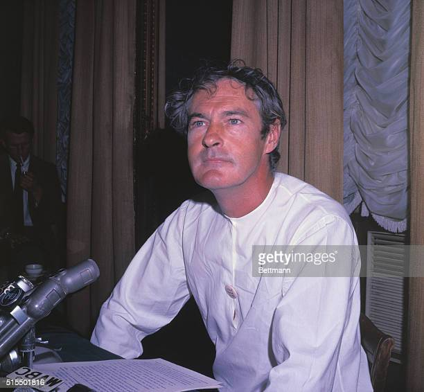 Dr Timothy Leary leading advocate of the controversial drug LSD tells the press September 19th that he has founded a new religion based on the...