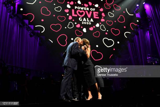 Dr Toby Cosgrove and Camille Ruvo attend the 24th annual Keep Memory Alive 'Power of Love Gala' benefit for the Cleveland Clinic Lou Ruvo Center for...