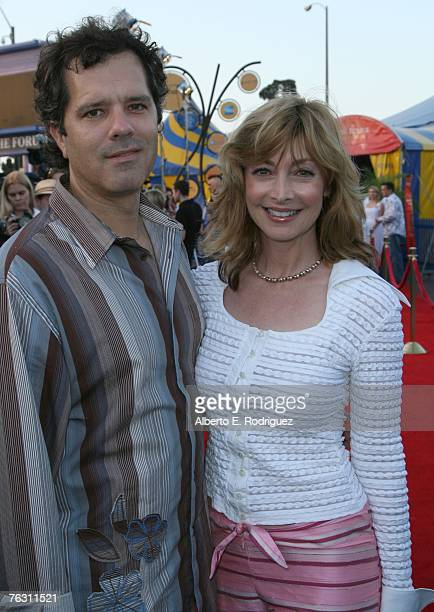 Dr Tom Apostle and actress Sharon Lawrence attend the opening night of Cirque du Soleil's Corteo on August 23 2007 in Los Angeles California