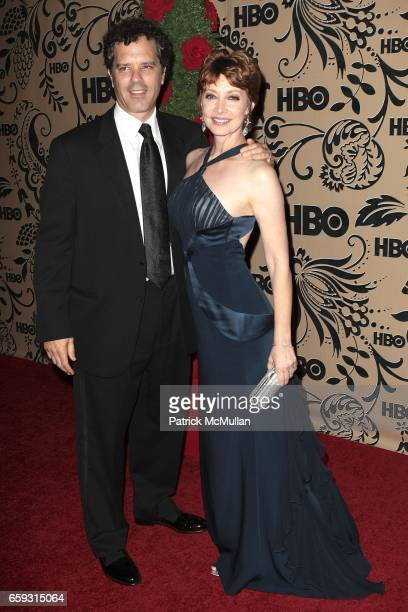 Dr Tom Apostle and Sharon Lawernce attend HBO EMMY After Party at Pacific Design Center on September 20 2009 in West Hollywood California