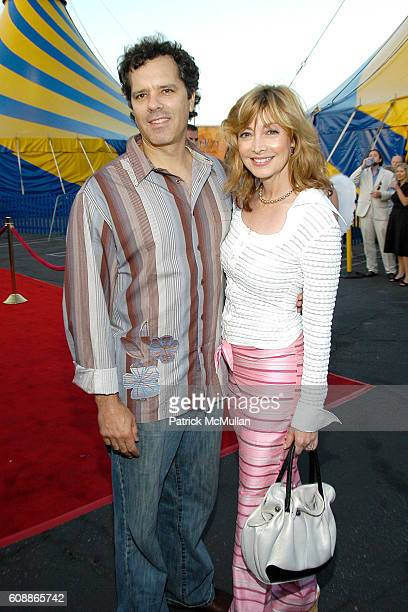 Dr Tom Apostle and Sharon Lawrence attend Corteo Premiere Held at the Cirque du Soleil Arrivals at Cirque du Soleil on August 23 2007 in Inglewood CA