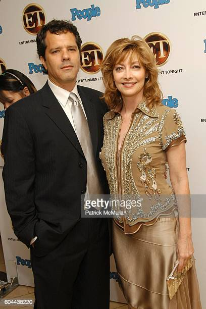 Dr Tom Apostle and Sharon Lawrence attend Entertainment Tonight and People Magazine Hosts Annual Emmy After Party at Mondrian on August 27 2006