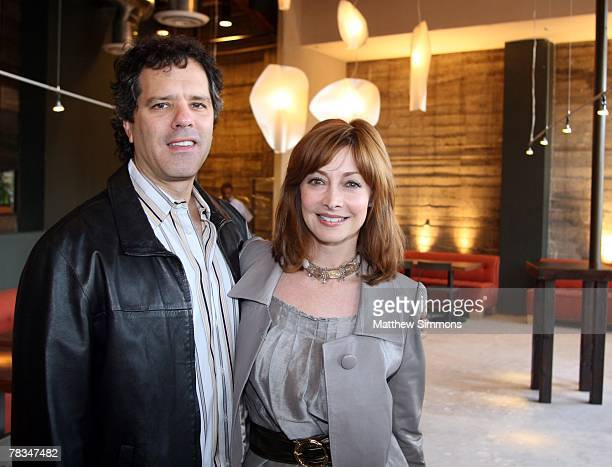 Dr Tom Apostle and Sharon Lawrence attend the opening party for the Akasha restaurant on December 9 2007 in Culver City California