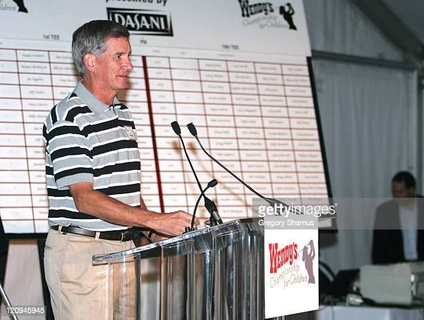 Dr Tom Hansen from Children's Hopsital during LPGA 2004 Wendy's Championship for Children Gordon Teter Memorial ProAm Draw Party in Dublin Ohio...