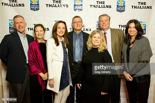 Dr Tom Strouse Lori Zuckerman Jo and Eric Sornborger Delany and Daryl Thrasher Dana Katz arrive for The Thalians Presidents Club's Holiday Brunch...