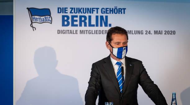 DEU: Hertha BSC digital members meeting