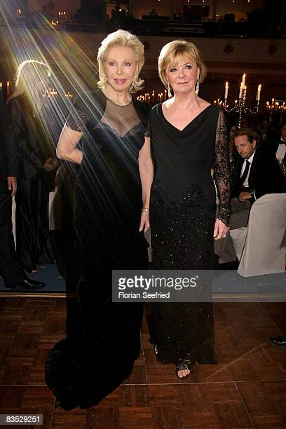 Dr Ute Henriette Ohoven and Liz Mohn attend the Unesco Benefit Gala For Children 2008 at Hotel Maritim on November 01 2008 in Cologne Germany