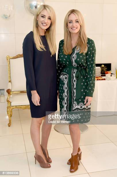 Dr Vanessa and Dr Lisa Creaven attend the launch of Spotlight Whitening into Boots UK at St Martins Lane Hotel on July 13, 2017 in London, England.