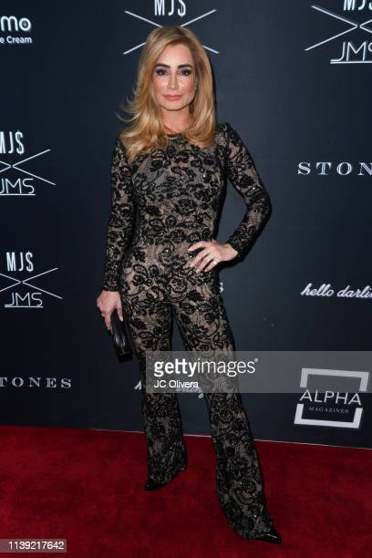 Dr Venus Nicolino attends Matt Sarafa and Jonathan Marc Stein's new 'Rich' clothing line release and fashion show on March 29 2019 in Los Angeles...