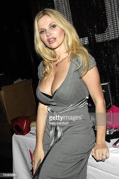 Dr Victoria Zdrok Penthouse Pet of the Year 2004 Celebrates the Hottest BadFun Products at Headquarters Gentleman's Club on July 17th 2007 in New...
