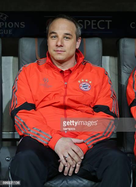 Dr Volker Braun Mannschaftsarzt FC Bayern Fussball Uefa Championsleague Viertelfinale Rückspiel FC Bayern München FC Porto 61