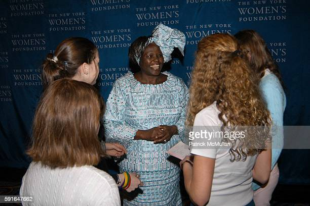 Dr Wangari Maathai attends The New York Women's Foundation 2005 'Celebrating Women' Breakfast at New York Marriott Marquis on May 12 2005 in New York