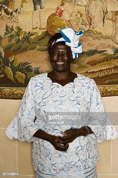 Dr Wangari Muta Maathai is an environmental and political activist In 2004 she became the first African woman to receive the Nobel Peace Prize for...