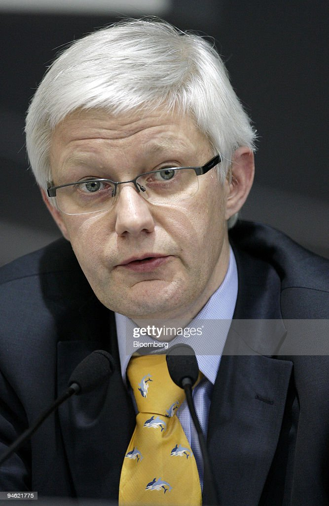 Dr. Werner Widuckel, a member of the managment board of Audi : News Photo