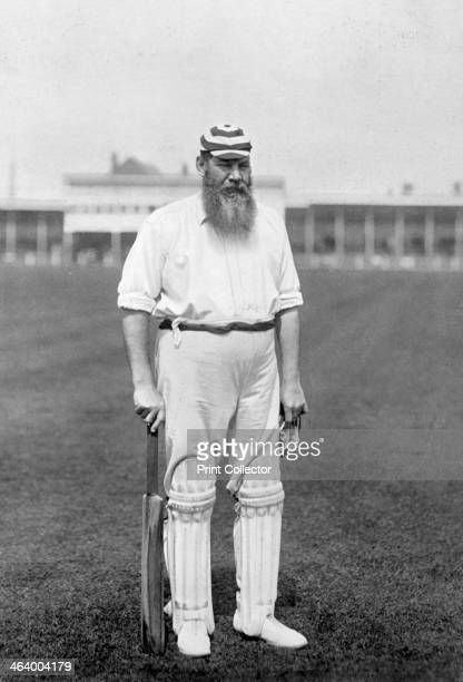 Dr WG Grace, English cricketer, playing for London County Cricket Club, c1899. Regarded as possibly the greatest cricketer of all time, WG Grace...