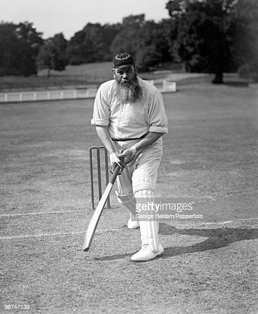 Dr WG Grace , Gloucestershire, London County, and England, circa 1902.