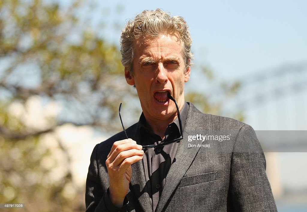 Dr Who Media Call With Peter Capaldi