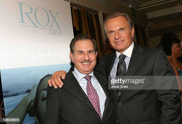 Dr William Binder and Dr Andrew Ordon attend 'A Season of Giving' for Surgical Friends Foundation event at The Mosaic Hotel on November 4 2010 in...