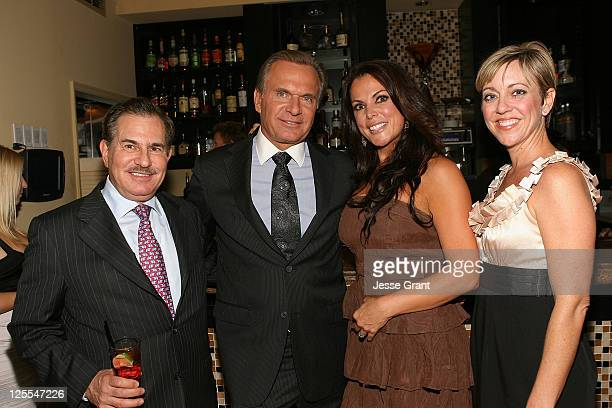 Dr William Binder Dr Andrew Ordon Cherrie Mastergeorge and Jen Maloy attend A Season of Giving for Surgical Friends Foundation event at The Mosaic...