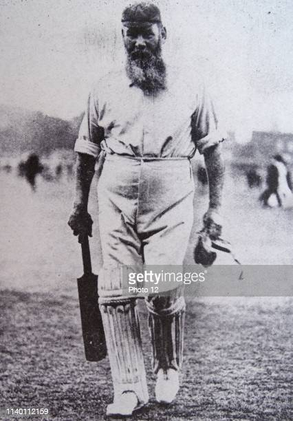 Dr. William Gilbert Grace , cricketer of legendary fame.
