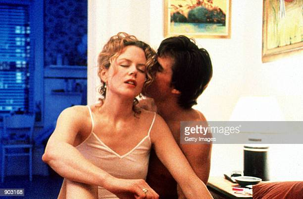 Dr William Harford and Alice Harford in Stanley Kubrick's Eyes Wide Shut