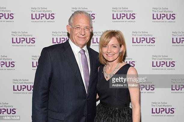 Dr William Haseltine Dr Sue Manzi attend the Lupus Foundation Of America National Gala at Gotham Hall on October 8 2013 in New York City