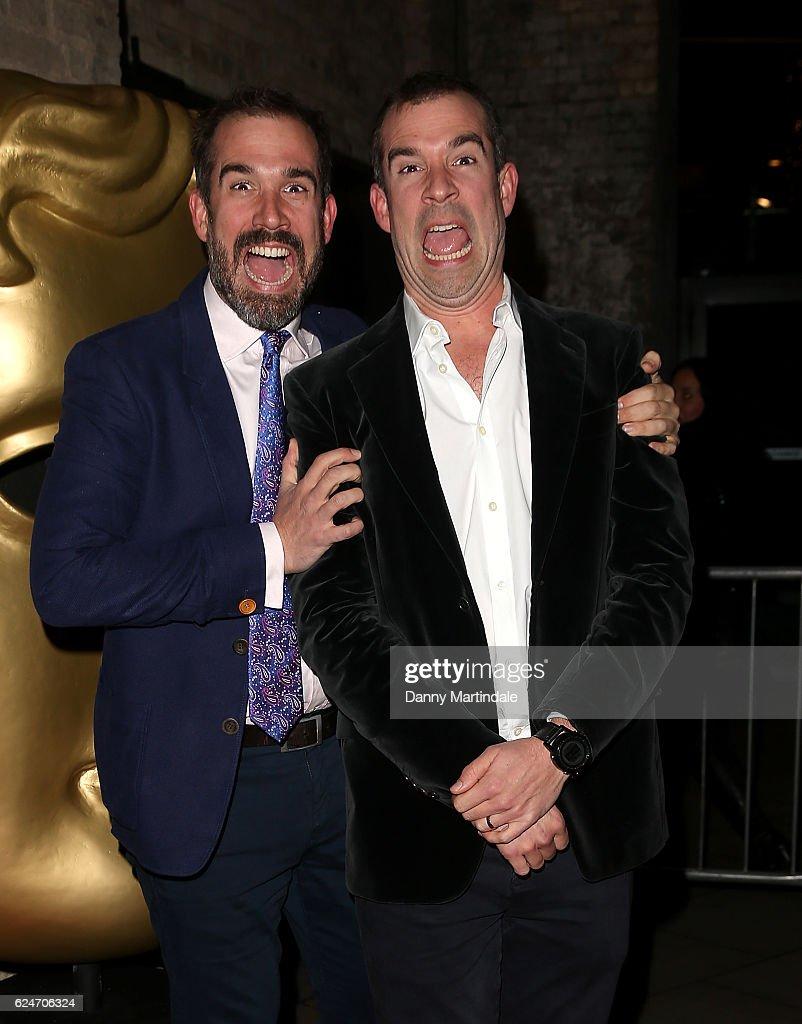 Dr Xand Van Tulleken and Dr Chris Van Tulleken attends the BAFTA Children's Awards at The Roundhouse on November 20, 2016 in London, England.