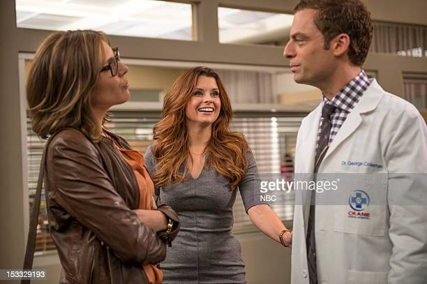 PRACTICE Dr Yamamazing Episode 105 Pictured June Diane Raphael as Dr Jill Leiter JoAnna Garcia Swisher as Dorothy Crane Justin Kirk as Dr George...