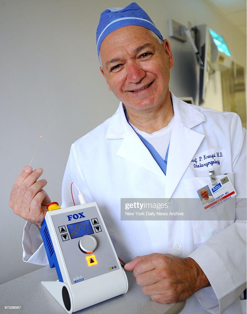 Dr. Yosef Krespi, Chairman of the Department of Otolaryngolo : News Photo