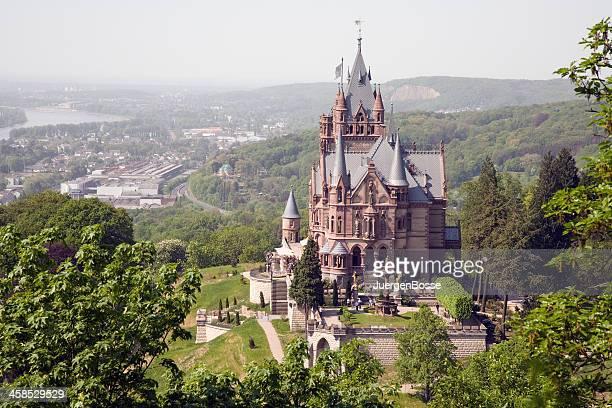 Drachenburg Palast auf dem Dragon's Hills