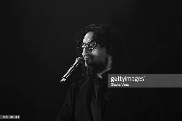 Draco Rosa performs as part of KQ Live Concert at Coliseo Jose M Agrelot on November 28 2015 in San Juan Puerto Rico