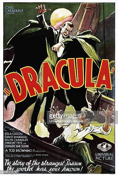 'Dracula' starring Bela Lugosi a 1931 vampirehorror film