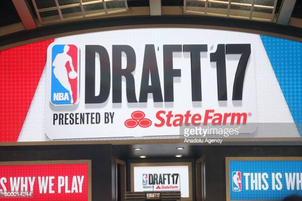 Draft 2017 held in Barclays Center in Brooklyn borough of New York United States on June 22 2017