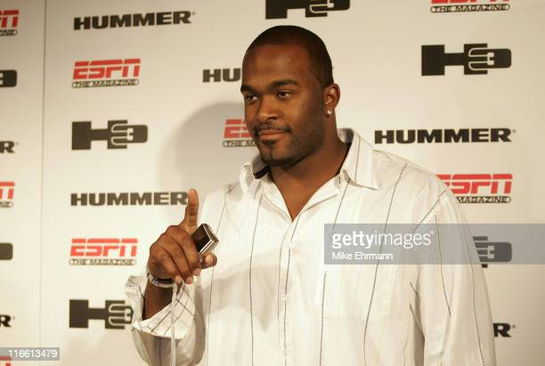 Draft pick Mario Williams from NC State at the Hummer and ESPN The Mag Present The Official 3rd Annual PreDraft Celebrity Bash Event Executive...