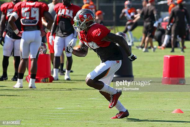 2016 draft pick Ryan Smith of the Buccaneers during the Tampa Bay Buccaneers Browns Training Camp at One Buccaneer Place in Tampa Florida