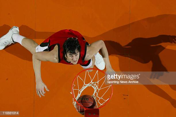 Andrew Bogut from Utah could be the pick by the Milwaukee Bucks in the 2005 NBA Draft PICTURED Sporting News via Getty Images NCAA Basketball Tourney...