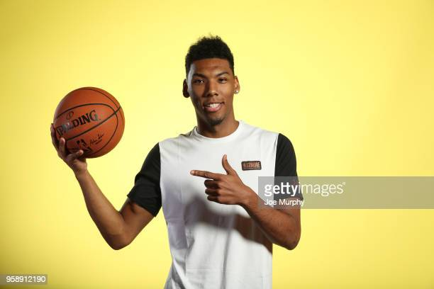 Draft Prospect Allonzo Trier poses for a portrait during the 2018 NBA Combine circuit on May 15 2018 at the Intercontinental Hotel Magnificent Mile...