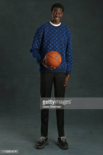 Draft Prospect Bol Bol poses for a portrait at the 2019 NBA Draft Lottery on May 14 2019 at the Chicago Hilton in Chicago Illinois NOTE TO USER User...