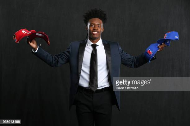 Draft Prospect Collin Sexton poses for a portrait before the NBA Draft Lottery on May 15 2018 at The Palmer House Hilton in Chicago Illinois NOTE TO...