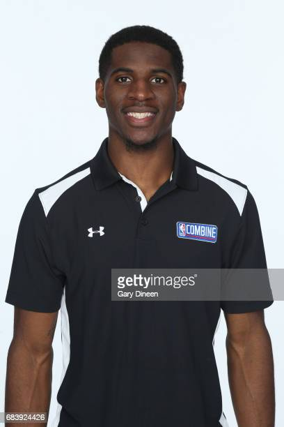 Draft Prospect Damyean Dotson poses for a head shot during the NBA Draft Combine Medical Testing on May 13 2017 at Northwestern Memorial Hospital in...