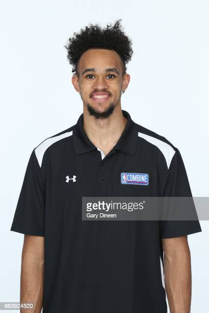Draft Prospect Derrick White poses for a head shot during the NBA Draft Combine Medical Testing on May 13 2017 at Northwestern Memorial Hospital in...